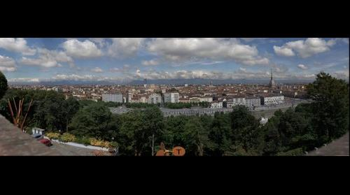 Torino panorama dal monte dei Cappuccini