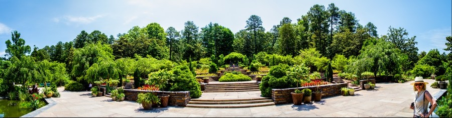 Duke Gardens at Duke University, Durham