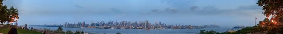 New York City Skyline from Weehawken New Jersey | June 10, 2014 at 8:37pm
