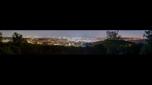 Stuttgart Panorama - Birkenkopf at Night