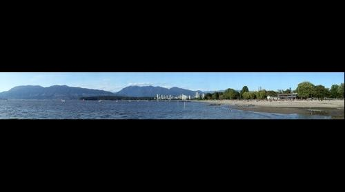 Kitsilano Beach and English Bay