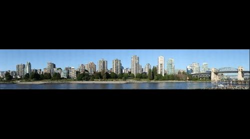 Sunset Beach and Burrard Bridge