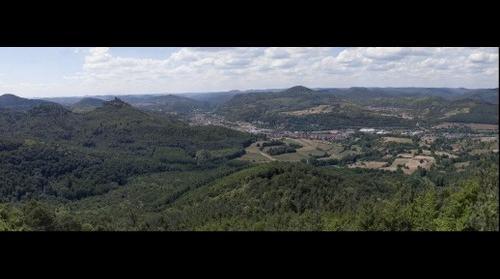 Blick vom Hohenberg (Westwärts)