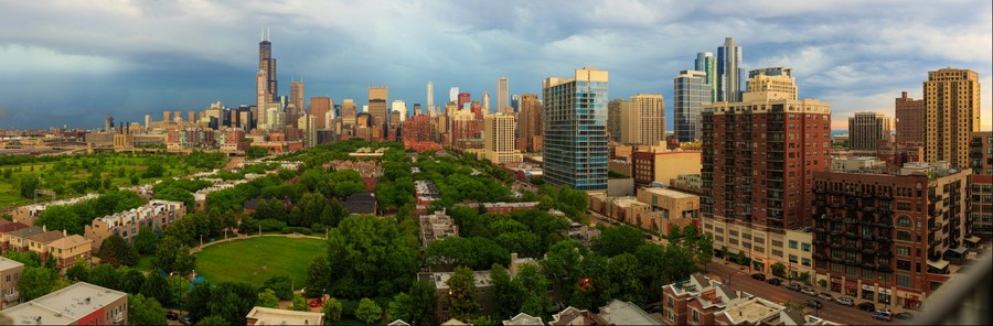 Chicago Skyline | June 21, 2014 from 5:40pm to 5:47pm
