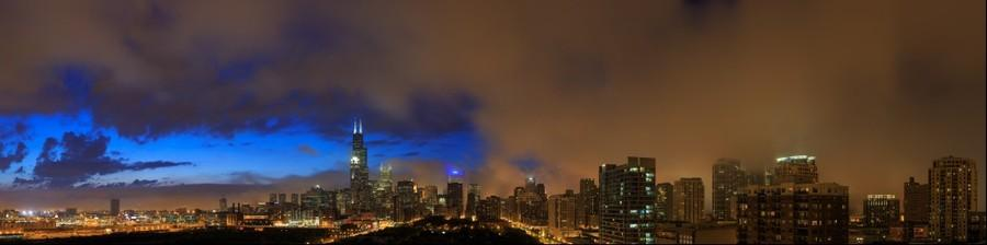 Chicago Skyline | June 20, 2014 from 9:17pm to 9:25pm