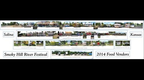 Smoky Hill River Festival ~ Food Vendors ~ 2014
