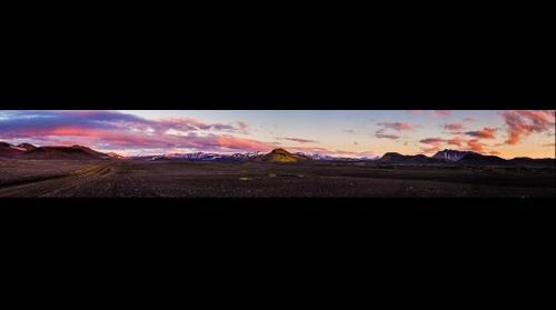 Entering Landmannalaugar