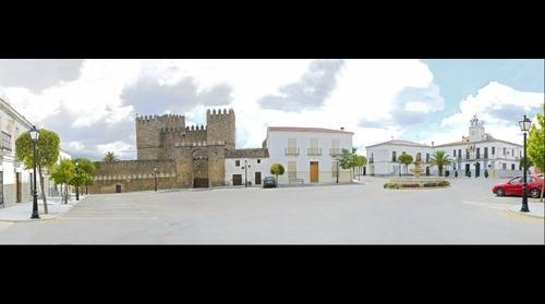 Plaza de España en Monroy