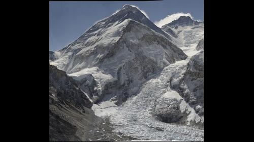 Mount Everest from Pumori Camp 1