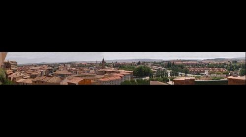 Vista parcial de Tarazona -Aragón