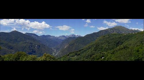 Inizio valle Orco