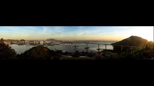 Sunrise over Vitória