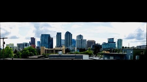 Bellevue, WA Skyline 7-3-2014