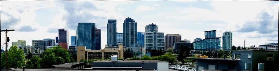 Bellevue, WA Skyline 7-3-2014