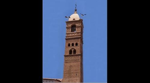 Torre de la iglesia de Nuestra Señora de la Magdalena de Tarazona (Mudejar)