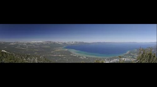 Lake Tahoe from the Heavenly Gondola Observation Deck