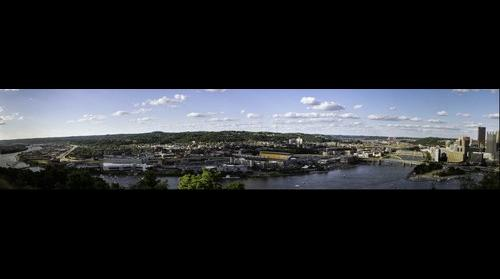 Downtown Pittsburgh Panorama
