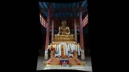 Buddha - Hemis Monastery, Leh,
