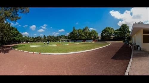 Fussballplatz in der Österreichschule, Guatemala City