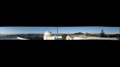 Lick Observatory Vista - Mt. Hamilton, CA