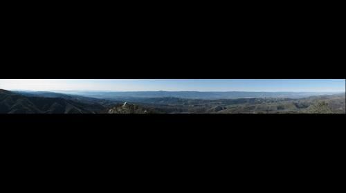 Santa Clara Valley, CA from Mt. Hamilton