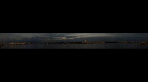 Санкт-Петербург вечером. St. Petersburg at night