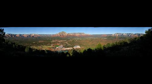 Sedona Arizona Looking NE