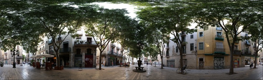 360º Plaça de Sant Agustí Vell / Barcelona
