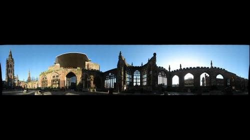 Coventry's Old Cathedral Ruins