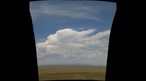 Storm Building over Unnamed Volcano, Southern Colorado