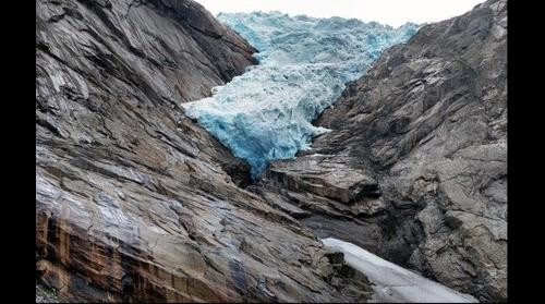 Glaciar Briksdal (Noruega)