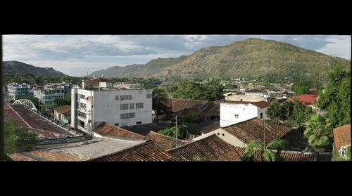 panoramic view of downtown Honda