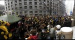 Steelers Rally on Forbes Avenue in Pittsburgh