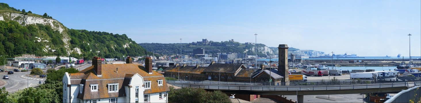 Dover, Harbour and Castle 02, Kent UK