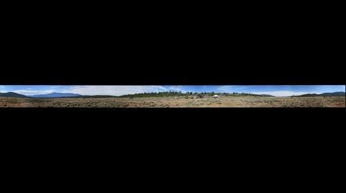 Rio Grande del Norte Geophysics Site 360° Panorama