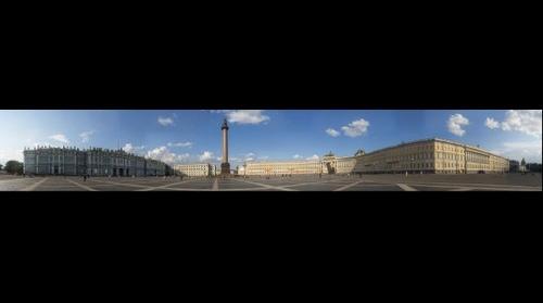 Санкт-Петербург. Дворцовая площадь. St. Petersburg. Schlossplatz