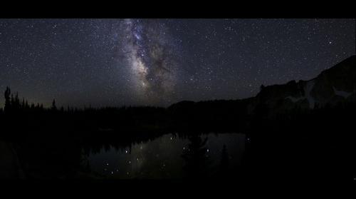 Milky Way in the Snowy Range