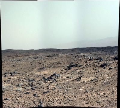 Curiosity, Sol 0696 (mosaic 2)