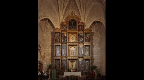 Retablo de la iglesia de Monroy