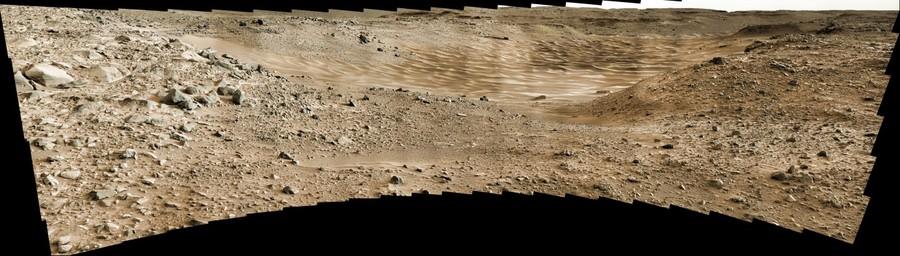 Curiosity, sol 703
