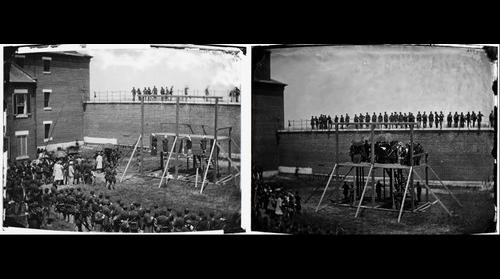 Lincoln Assassination Conspirators Execution