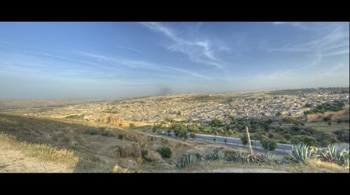 Panoramic View of Fes (Fez) Morocco
