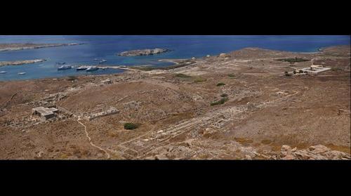 Delos site archeologique