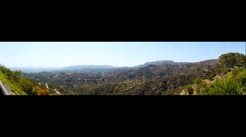 The Hollywood Sign on Mount Lee