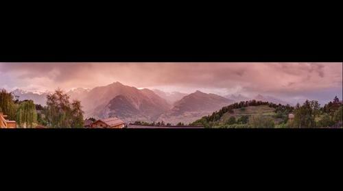 Stunning Swiss Sky
