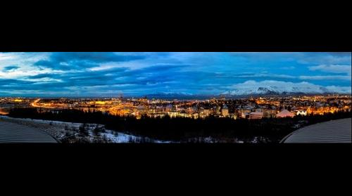 Reykjavik in the Blue Hour