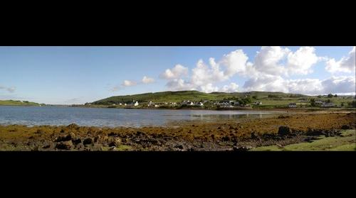 Dunvegan bay - isle of skye - uk