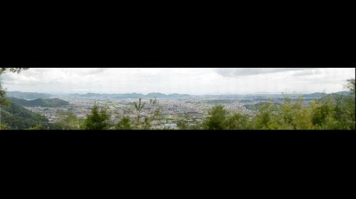 View from Mt. Hiromine in Himeji