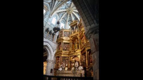 Altar mayor de la catedral de Nª Sª de la Huerta de Tarazona