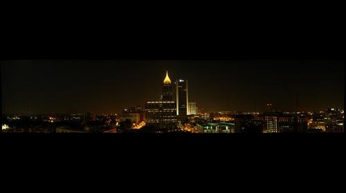 Atlanta Night from the Spire